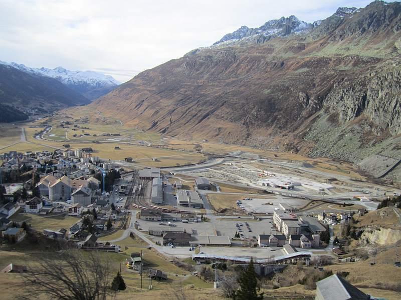 Andermatt und Urschner Höhenweg