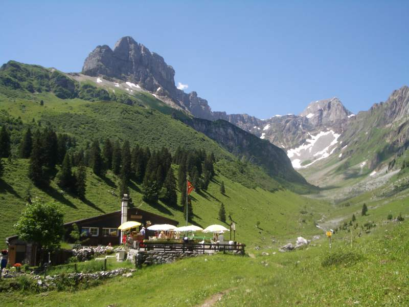 Foto Bergrestaurant Bächialp