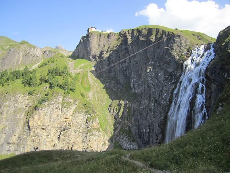 Klettersteig Engstligenalp : 731a engstligenalp ob adelboden: aufstieg und rundwanderung; abstieg