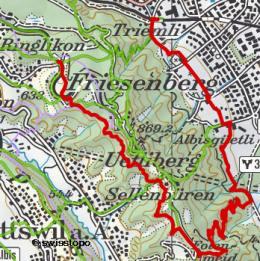 658 Von Hütte zu Hütte am Üetliberg - eine Bergtour am Zürcher Hausberg