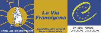 La Via Francigena, Logo von                       francigena-international.org