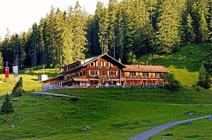 Hotel Restaurant Oschinensee Switzerland