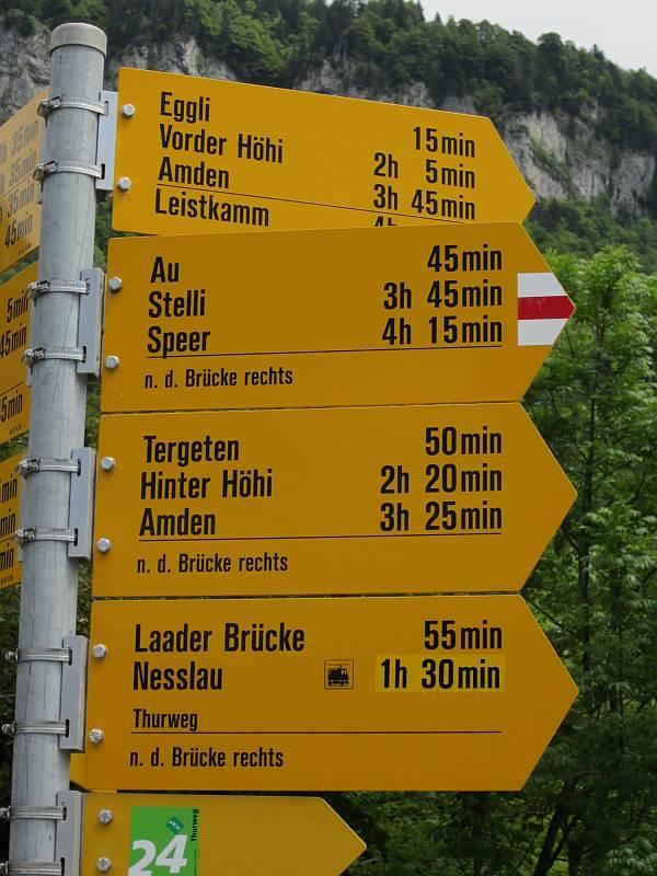 Alpenpanoramaweg Durch Die Schweiz Nationale Route Nr 3