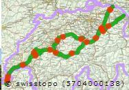 Jakobsweg Frankreich Spanien Karte.Jakobsweg Durch Die Schweiz Viajacobi Die Verschiedenen